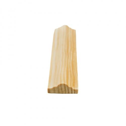MAZTERDOOR คิ้วตกแต่ง-ไม้สัก (จั่ว) 1/2x1x10 ฟุต M.0402