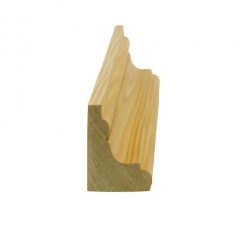 MAZTERDOOR คิ้วตกแต่ง-ไม้สัก(ตุ่ม) 1นิ้ว x 1.1/2นิ้ว x7 ฟุต M.0605