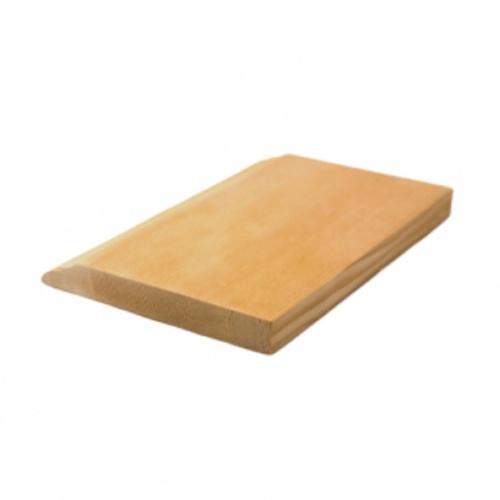 MAZTERDOOR บัวพื้น-ไม้สัก ขนาด 1/2นิ้ว x4นิ้ว x6.5 ฟุต M.1302(บัวพื้น)
