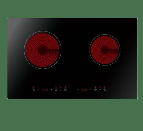 TECNO+  เตาไฟฟ้าเซรามิค 2 หัวเตา  TNP CHB 7052 B