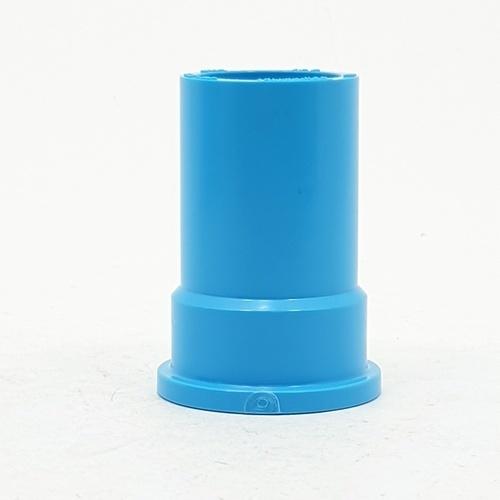 Number One ข้อต่อตรงเกลียวในPVC 3/4 นิ้ว  (แพ็ค 10) สีฟ้า