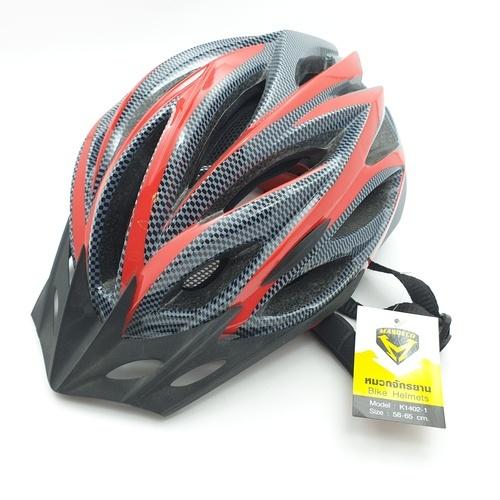 - หมวกจักรยาน ขนาด 48-58cm ไซด์ M K1402-1