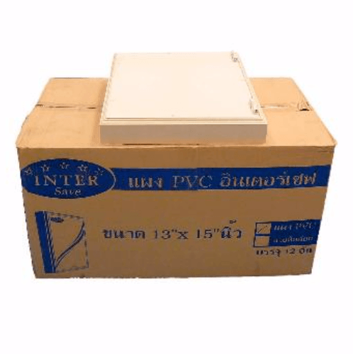 Intersave แผง PVC 13x15 11603452