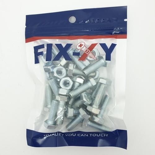 FIX-XY สกรูเกลียวมิล 5/16x1 EF-015 (20ชิ้น/แพ็ค)