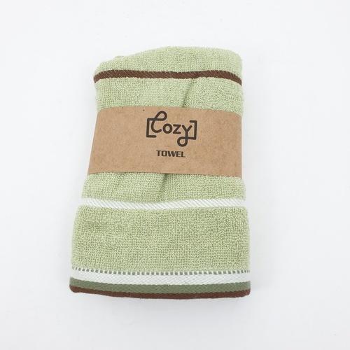 COZY ผ้าขนหนู ขนาด 34x75ซม.  GTL003-GN  สีเขียว