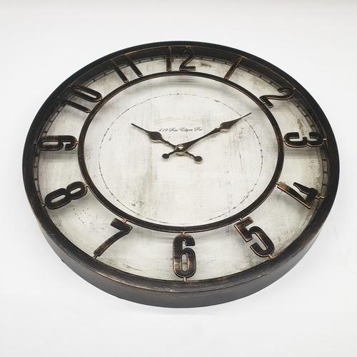 COZY นาฬิกาติดผนัง 40ซม.   BY011 สีขาว