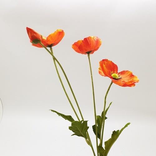 Tree O ดอกไม้ประดิษฐ์ตกแต่ง HB020 สีแดง