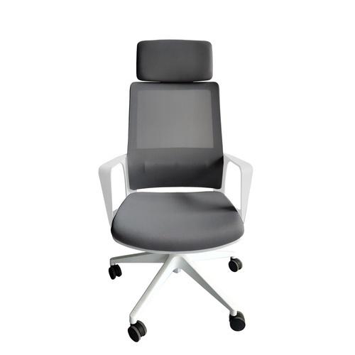 SMITH เก้าอี้สำนักงาน  SK3170A สีขาว-เทา