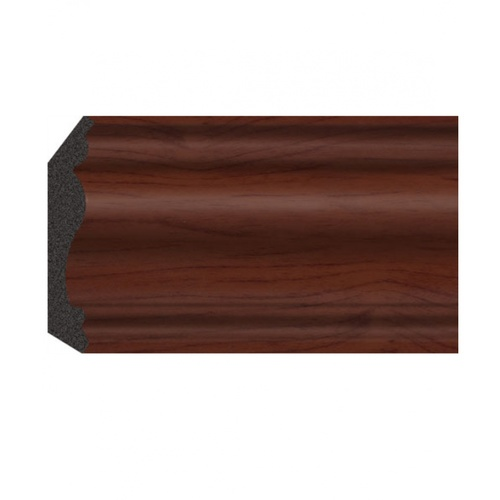 GREAT WOOD ไม้บัวบน PS ขนาด 70.8x14.2x2900mm.  JC335-4 สีน้ำตาลเข้ม