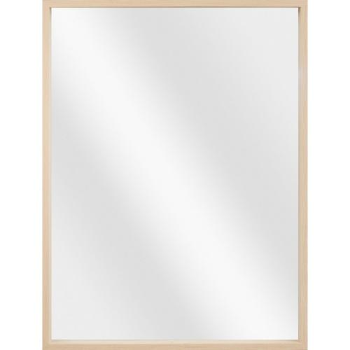NICE  กระจกมีกรอบทรงเหลี่ยม (PS) ขนาด 60x80cm วินดี้ X1666040T สีไม้