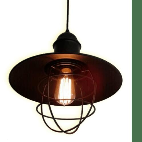 V.E.G โคมไฟห้อย 8702 สีดำ