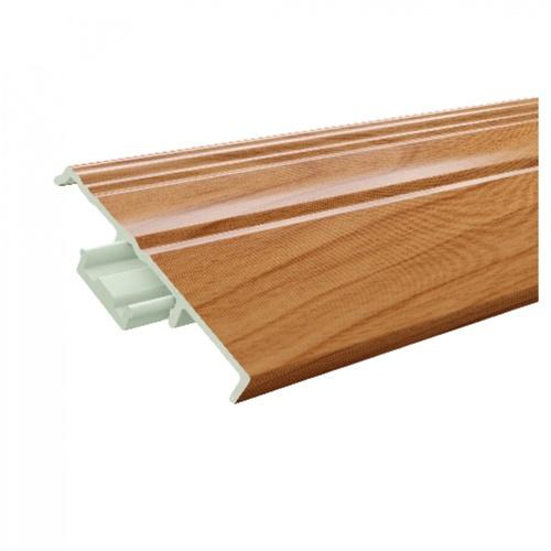 GREAT WOOD ไม้บัวล่าง PVC FBM-1001A 100x14x2700mm. CH01