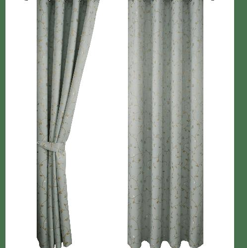 Davinci ม่านหน้าต่างทึบแสงพิมพ์ลาย WT-17071-GNW สีเขียว