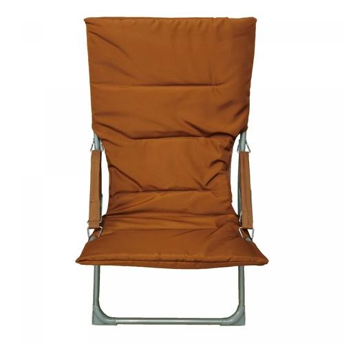 Pulito เก้าอี้พักผ่อน 60x91x76ซม.   Moon-Square สีน้ำตาล
