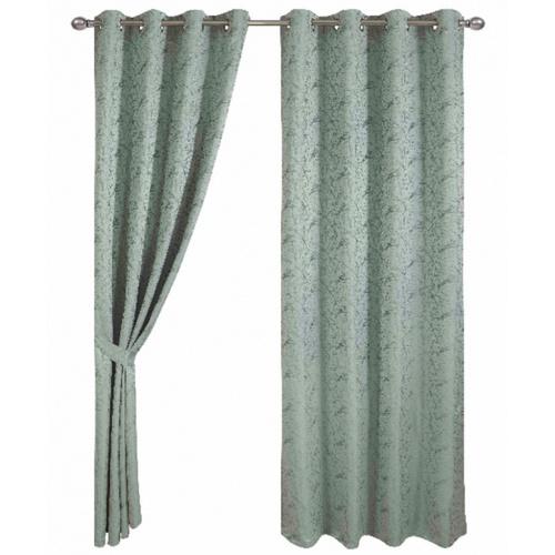 Davinci ผ้าม่านหน้าต่าง  ขนาด 150x160ซม Hejo  สีเขียว