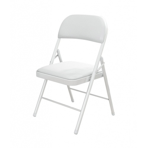 Delicato  เก้าอี้พลาสติกพับได้  ขนาด 45×47.5×79.5ซม.  LX-001-A สีขาว