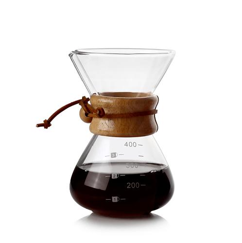 LAMAYON ชุดดริปกาแฟ Pour-Over CLEAN ขนาด 400ML สีใส CP01