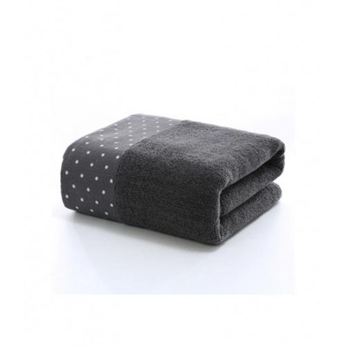 COZY  ผ้าเช็ดหน้า ขนาด 35×75×0.4ซม. LY05 สีเทา