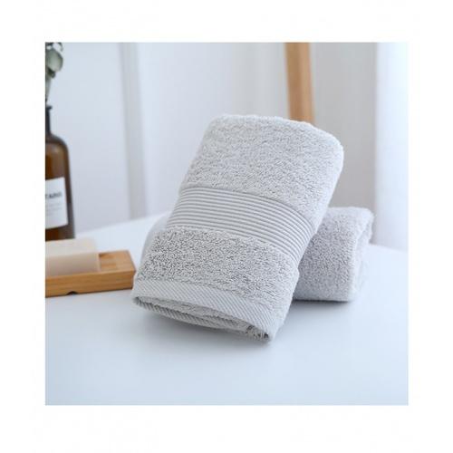 COZY ผ้าเช็ดหน้า ขนาด 35×75×0.4ซม. LY08 สีเทา