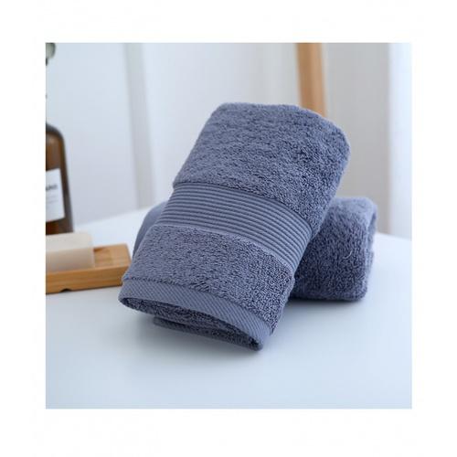 COZY  ผ้าเช็ดหน้า ขนาด 35×75×0.4ซม. สีน้ำเงินเข้ม LY09
