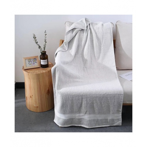 COZY  ผ้าเช็ดตัว ขนาด 70×140×0.4ซม. LY16 สีเทา
