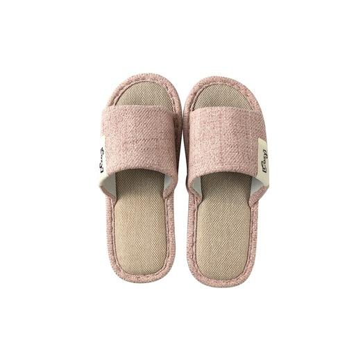 COZY รองเท้าสลิปเปอร์แบบเปิดนิ้วเท้า ขนาด NO.40-41 Nori TX08-PK  สีชมพู