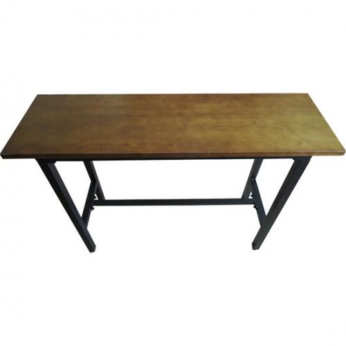 Delicato โต๊ะบาร์ ขนาด 40x140x100 ซม.  JK002 สีวอลนัท
