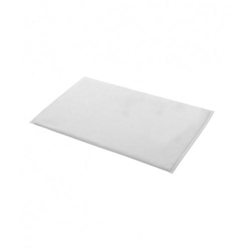 COZY ผ้าเช็ดเท้าโรงแรม ขนาด 45×75×0.35 ซม.  LL03 สีขาว