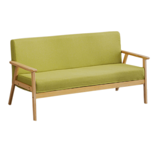 Divano โซฟาผ้า 2 ที่นั่ง 65X113X71CM. MH002  สีเขียว