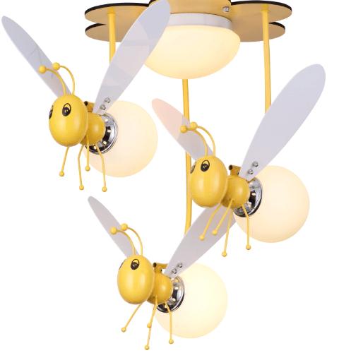 V.E.G โคมไฟเพดานเด็ก   JFE-RTD07 สีเหลือง