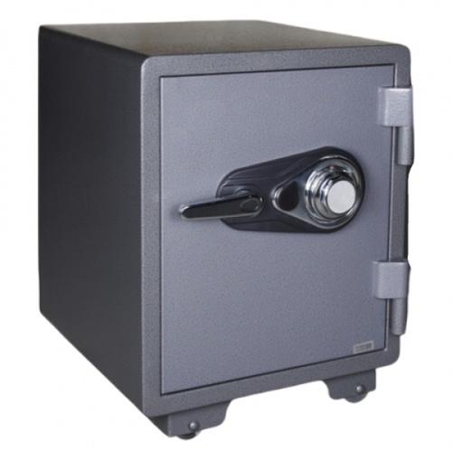 PROTX ตู้เซฟกันไฟอนาล็อก ขนาด 53x46x47ซม. YB-530ALP-C สีดำ