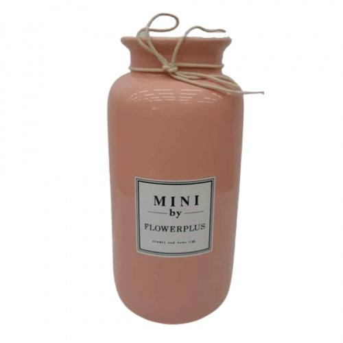 COZY แจกันตกแต่ง Size M QM004 สีชมพู