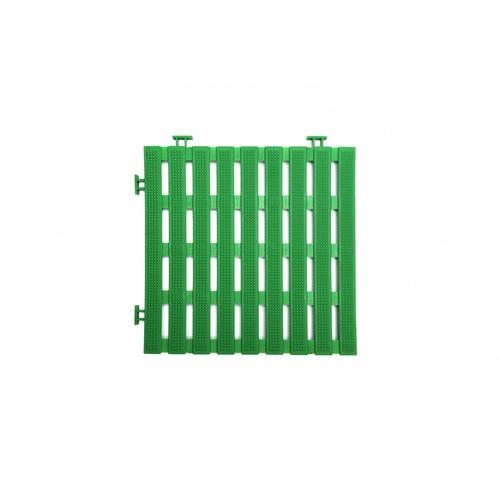 Primo แผ่นกันลื่น PVC ขนาด 30×30 ซม.  (4แผ่น/แพ็ค) Flat BYF002-GN  สีเขียว