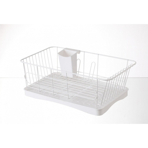 GOME ที่คว่ำจาน ขนาด 25.3x43x15ซม. Pro Kitch01 สีขาว