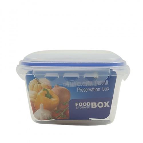 GOME กล่องถนอมอาหาร 1,200ML. 15.4x15.4x9.9 ซม. EL012
