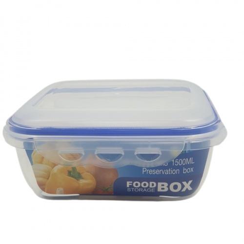 GOME กล่องถนอมอาหาร 1,500ML. 18.8x18.8x8.1 ซม. EL013