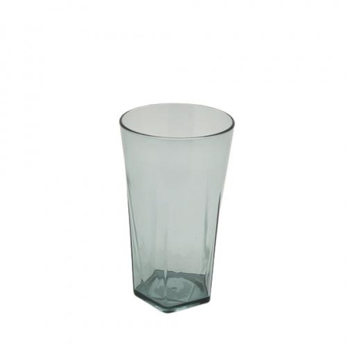 GOME แก้วพลาสติก  350ML ขนาด 5.4x7.5x13 ซม. ZS8015 สีเทาอ่อน