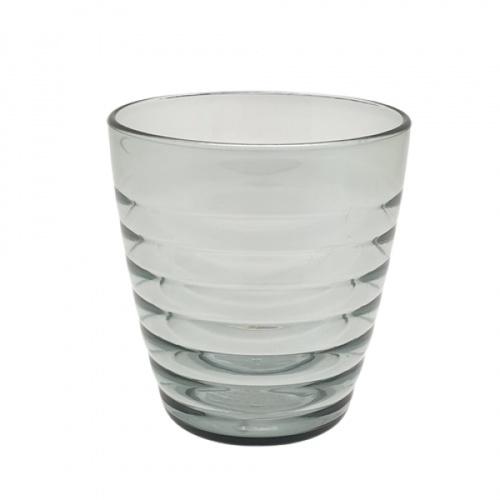 GOME แก้วพลาสติก 320ML.  ขนาด 5.4x8.3x8.9 ซม. ZS8019 สีเทาอ่อน