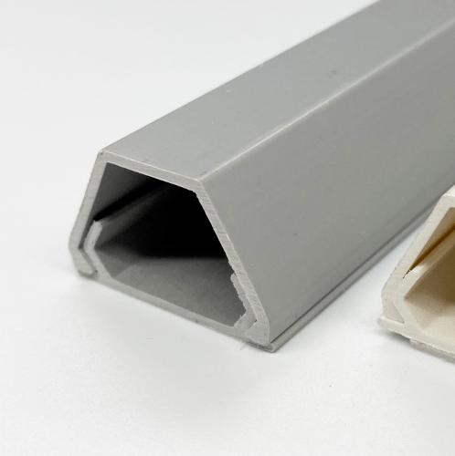 VEG รางร้อยสายโทรศัพท์ 17×26 สีเทา