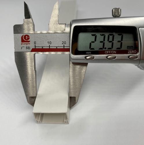 V.E.G. รางวายเวย์พลาสติก 24*14มม.ยาว 2เมตร สีเทา