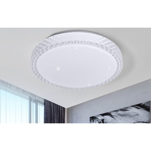 EILON โคมไฟเพดาน LED ปรับแสงได้  ขนาด 36W  รุ่น Pandena-500 ( พร้อมรีโมท )  Pandena-500 ( พร้อมรีโมท ) สีขาว
