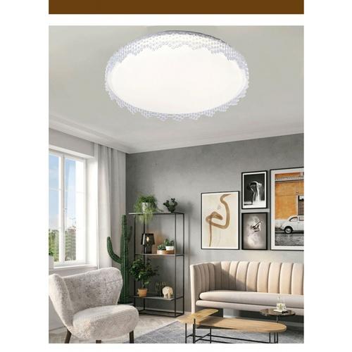 EILON  โคมไฟเพดาน LED ปรับแสงได้ ขนาด  24W  (พร้อมรีโมท)  Venie-400 สีขาว