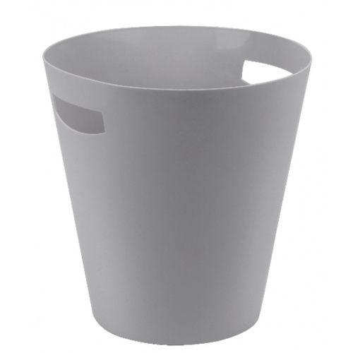 ICLEAN ถังขยะพลาสติกทรงกลม ขนาด 5ลิตร TG54611  สีเทา