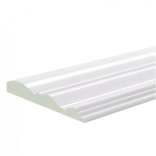 GREAT WOOD ไม้บัว PVC FCM-0833E 83x10x2700mm. WH05