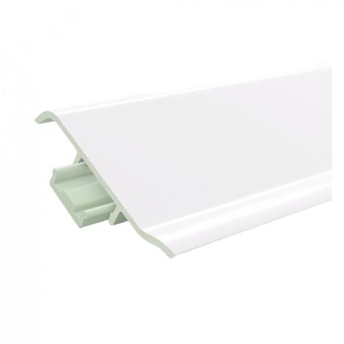 GREAT WOOD ไม้บัวล่าง PVC  FBM-1001D 100x21x2700mm. WH05