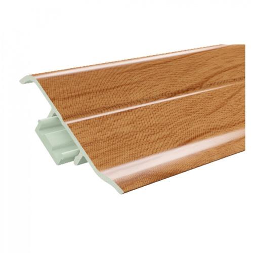 GREAT WOOD ไม้บัวล่าง PVC  FBM-1001C 100x21x2700mm. CH01