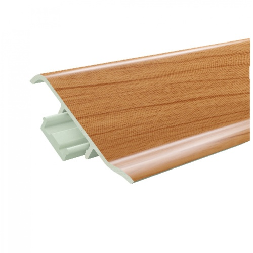 GREAT WOOD ไม้บัวล่าง PVC ขนาด  100x21x2700mm. CH01  FBM-1001D