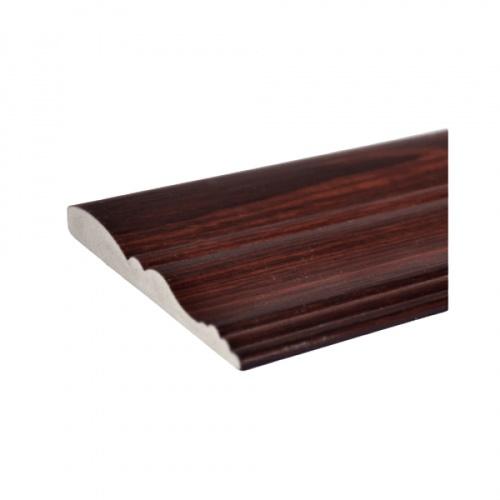 GREAT WOOD ไม้คิ้ว FCM-0833E สีสัก#MI01 2.7ม.