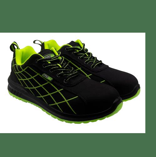 PROTX รองเท้าเซฟตี้ # 43 TSS-PU006-0143 ดำ-เขียว