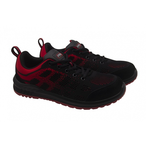 PROTX รองเท้าเซฟตี้ # 42 TSS-PU006-0342 ดำ-แดง